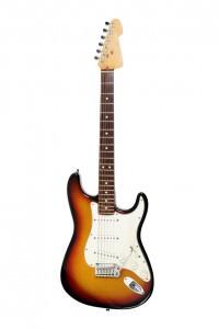 E-Gitarre Sunburst